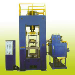 Caking Rare Earth Magnet Hydraulic Press