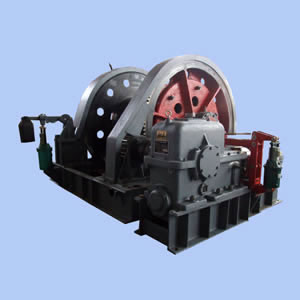 Two Speed Shaft Sinking Winch