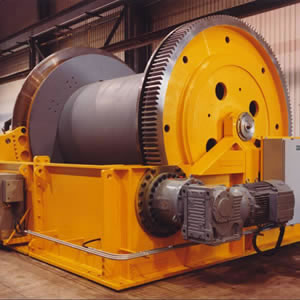 Steel Rope Shaft Sinking Winch